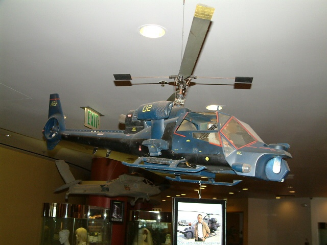 blue thunder model at sony